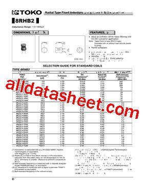 toko inductors datasheet 28 images 919as 160m datasheet datasheets manu page 1 fixed