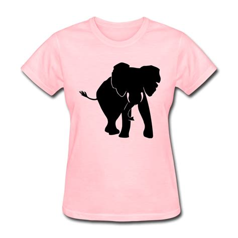 design t shirt wholesale design 100 cotton womens t shirt elephant cool shapes