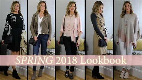 2018 hot and flashy outfit ideas for spring 2018 lookbook capsule wardrobe