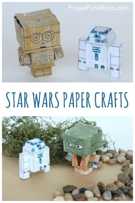 Paper Craft For Boys - wars paper crafts to make frugal for boys and