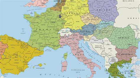 map of europe images europe map wallpapers wallpaper cave