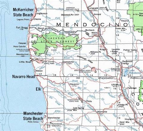 california map mendocino county map of mendocino coast ca pictures to pin on