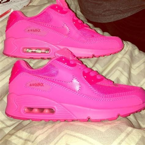 solid color air max nike air max 90 s color pink solid pink brand new
