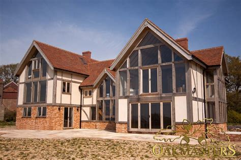 large country house with glazed gables oakmasters