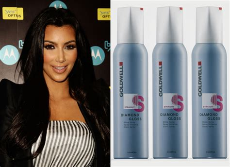 what hair product to use for a shiny comb over guess which product kim kardashian swears by for shiny