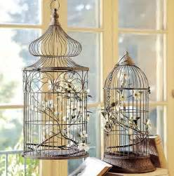 Decorating A Birdcage For A Home by Decoration Of Decor Or How To Use A Cage For Birds In The