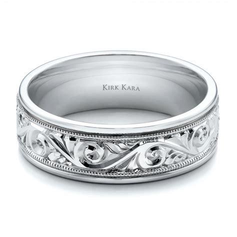 engraved s wedding band kirk kara 100671