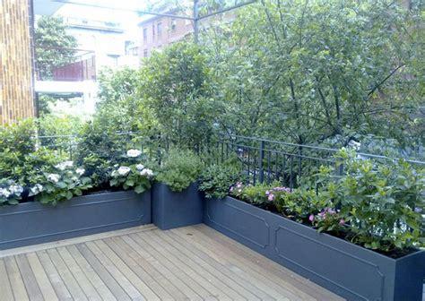 come arredare un terrazzo con piante come arredare un terrazzo con le piante tante idee