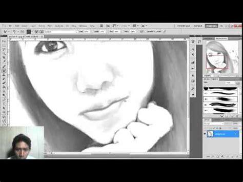 tutorial cara membuat gambar wajah menjadi sketsa dengan photoshop untuk pemula