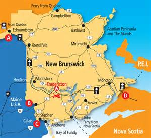 where is fredericton in canada on the map plan fredericton tourism