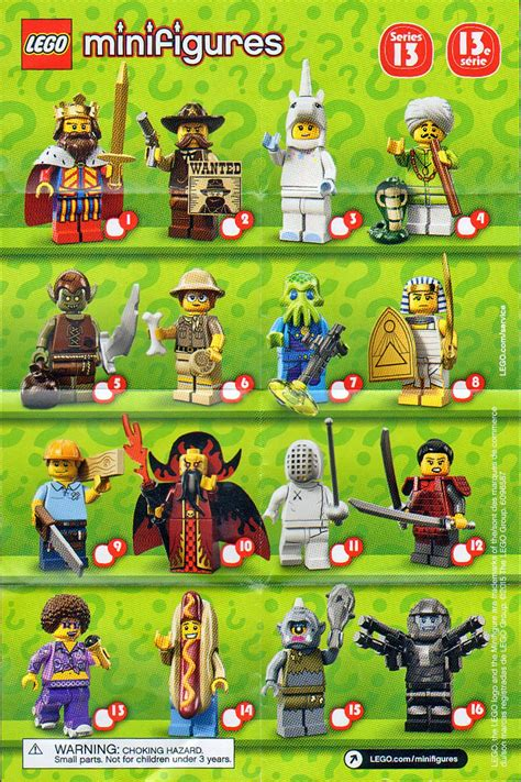 Lego Series 13 Goblin the minifigure collector lego minifigure series 1 18