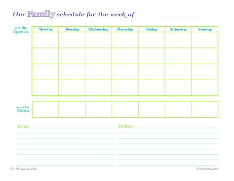 free printable household planner free printable family planner calendar template 2016