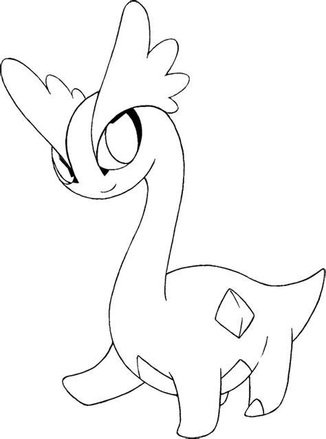 pokemon coloring pages amaura dibujos para colorear pokemon amaura dibujos pokemon