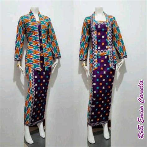Setelan Batik Rnb Encim Kawung seragam batik di semarang ungaran katalog konveksi