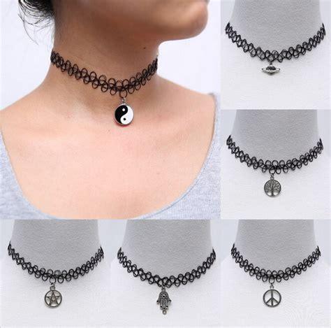 tattoo neck choker diy aliexpress com buy wholesale new fashion neck jewelry