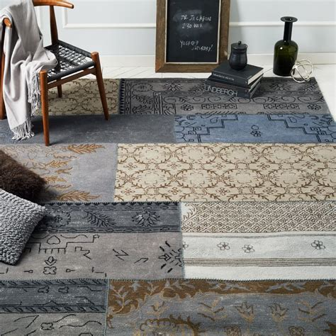 west elm cadiz rug west elm distressed cadiz wool rug platinum shopstyle home