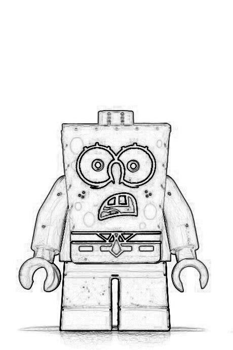 Lego Spongebob Coloring Pages | lego spongebob coloring pages coloring home