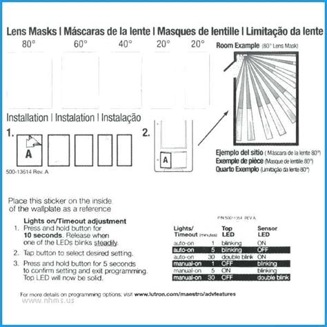 lutron maestro motion sensor switch wiring diagram