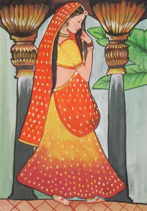 indian woman paintings art ideas pictures images