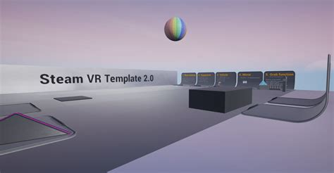 Steam Vr Template Unreal Engine Forums Ue4 Vr Template