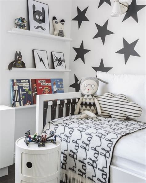 Stylish Black And White Boys Room Design Kidsomania And Black Boys Room