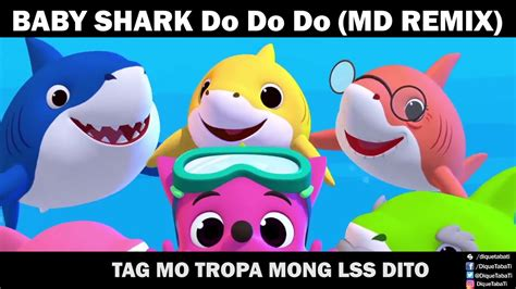 baby shark song remix baby shark doo doo doo doo md remix youtube