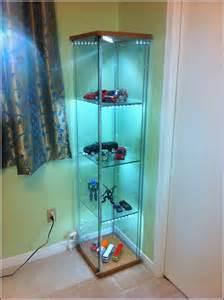 Detolf glass door cabinet lighting home design ideas