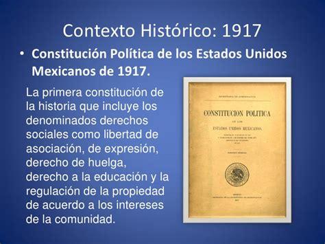 1917 constituci n pol tica de los estados unidos mexicanos construcci 243 n del nacionalismo posrevolucionario en m 233 xico