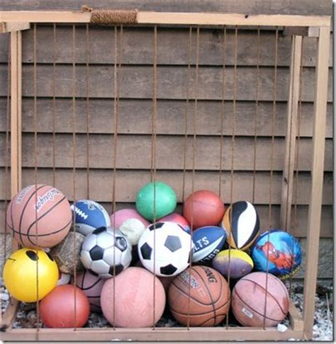 Garage Organization For Balls Storage Bin We Ve Got So Many I Need Some
