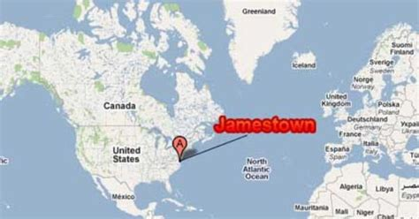 usa map jamestown jamestown where is jamestown usa jamestown