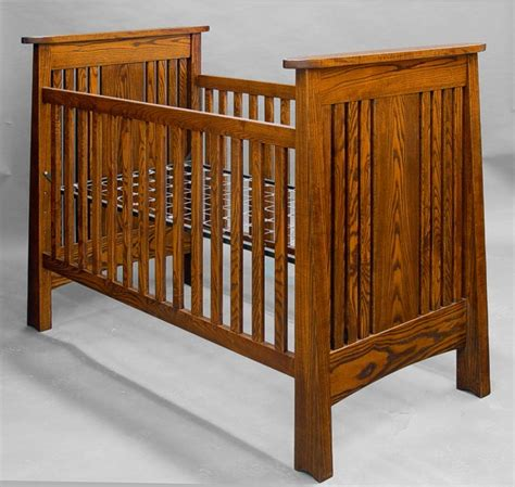 Handcrafted Baby Cribs - arts crafts mission mackintosh crib handmade ash ebay