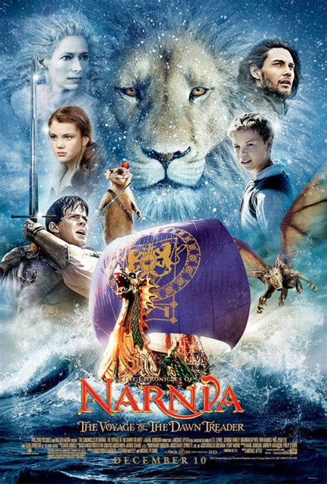 narnia film rating the chronicles of narnia the voyage of the dawn treader