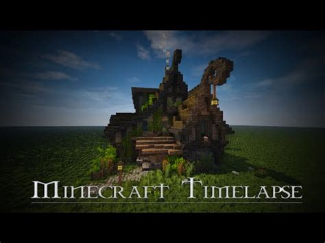 medieval house skyrim inspiration timelapse download minecraft project rustic fantasy house timelapse download minecraft project
