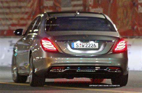 2014 Mercedes Benz S Class Spy Shots Photo Gallery Autoblog