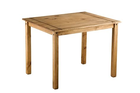 Small Pine Dining Table Corona Small Mexican Pine Dining Table 4 Chairs Solid Wood Ebay