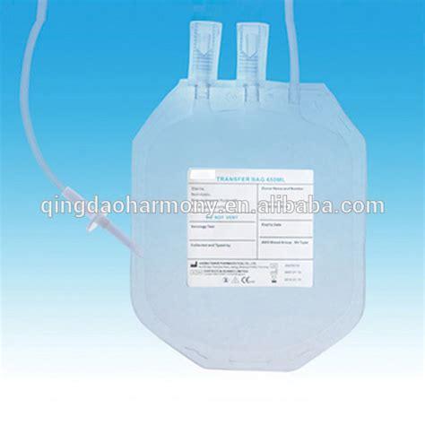 Sale Jms Blood Bag Single 350ml single transfer blood bag one 450ml empty blood bag with