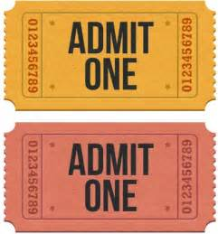 Go back gt gallery for gt blank movie theater ticket