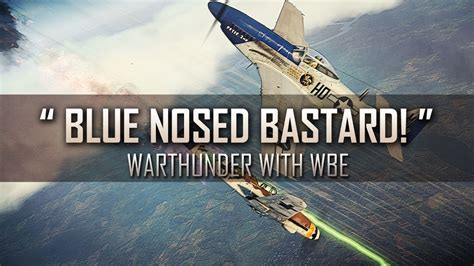 Webe Swagger 3251 Vi quot blue nosed quot war thunder rb p 51 d 20 na