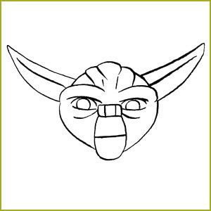 Yoda Drawing Outline by How To Draw Yoda News Features Wars The Clone Wars Comic Titan Magazines