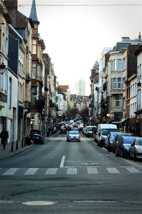 picture street city road car asphalt exterior avenue downtown metropolis