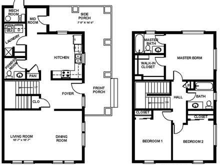 2500 sq ft ranch floor plans 2500 sq ft house plans with 5 bedrooms popular house