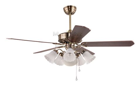Ceiling Fan Crystal Chandelier Light Kits by Flower White Ceiling Fans With 6 Light Kits For Foyer