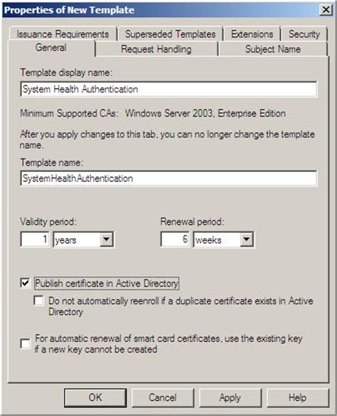 17 workstation authentication certificate template sccm