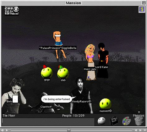 avatar chat rooms tech relics there was a bank of rewinders the n64 demo station the something awful forums