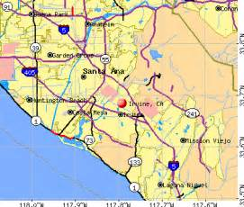 of california irvine cus map irvine california map