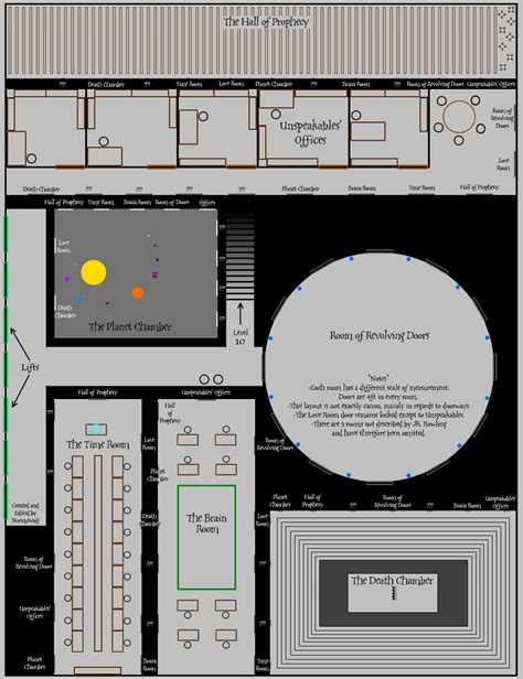 Room Blueprints ministry of magic level 9 by stormywolf on deviantart