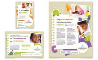 advertising study template daycare advertisements flyers for small business