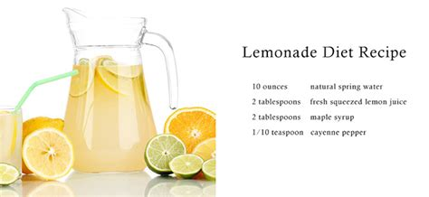 Master Cleanse Lemonade Water Detox Diet by Lemonade Diet Kale S Kitchen