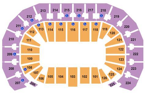 matthew arena seating pbr professional bull riders tickets seating chart intrust