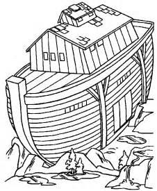 free printable bible coloring noahs ark